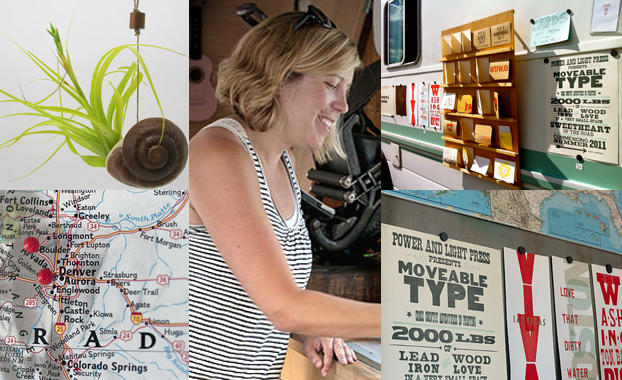 kyle, moveable type, design, typography, letterpress, destination inspiration, modern in denver,