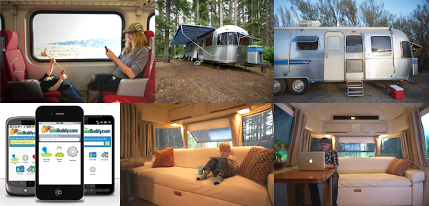 destination inspiration, shiny camper, gasbuddy.com, modern in denver,