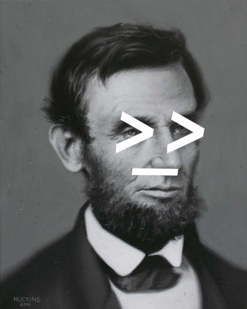 Lincoln's Shifty Gaze