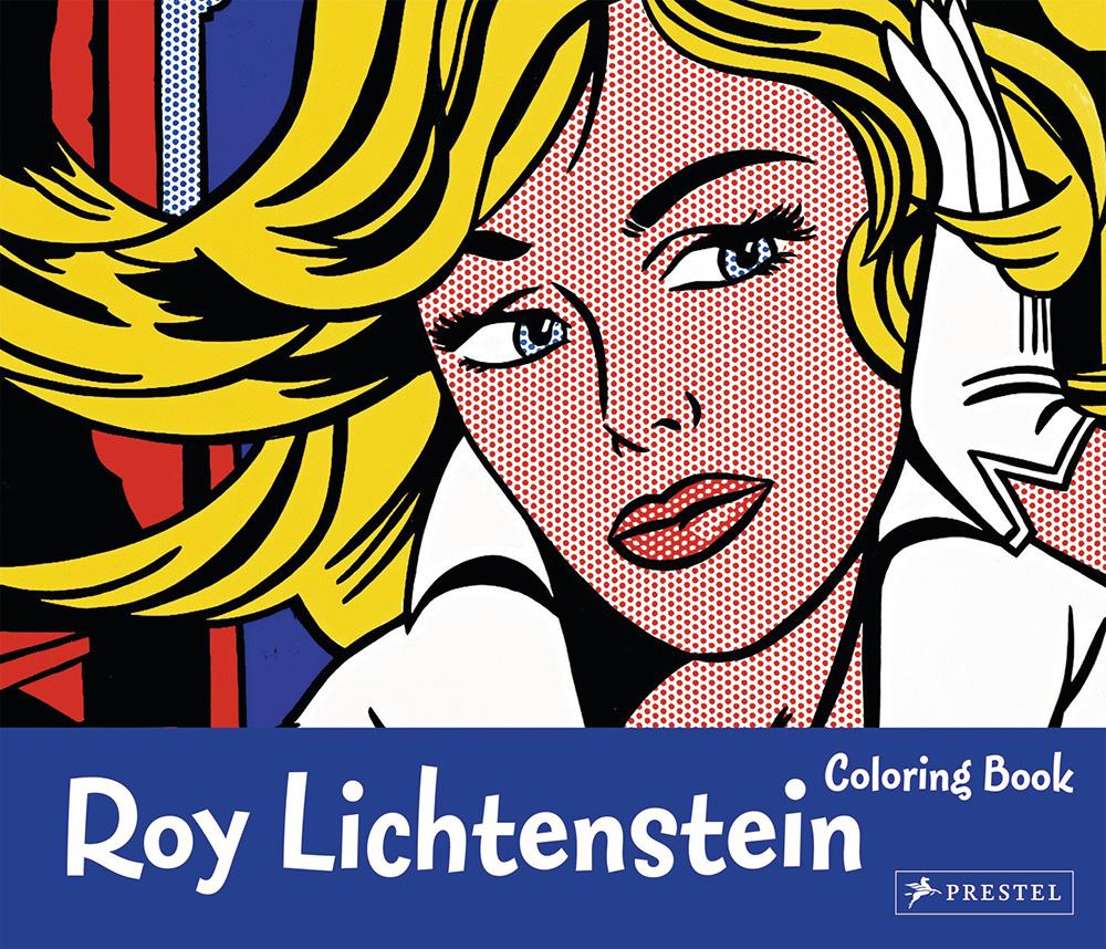 Coloring Book Roy Lichtenstein von