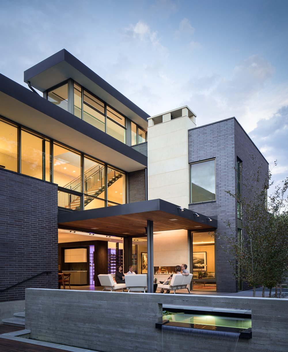 Building modern contemporary homes in denver for Modern houses denver