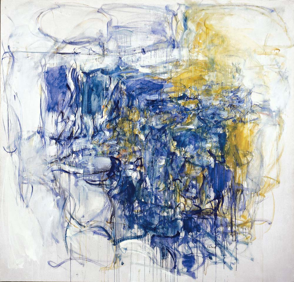 Joan Mitchell_Hudson River Day Line_1955