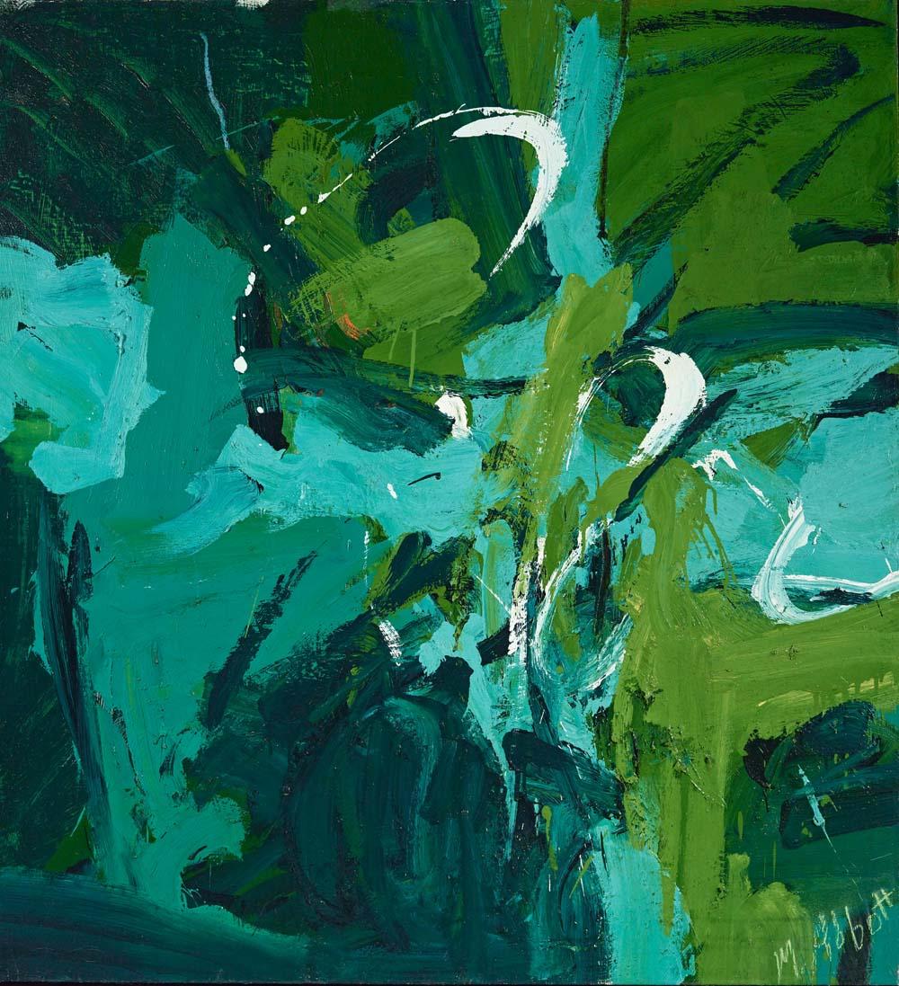 Mary Abbott_All Green_1954