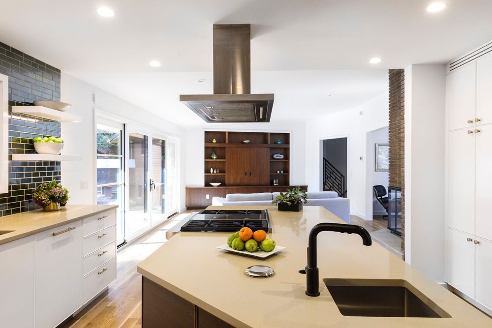 2016 Oct 24: Contemporary residential Kitchen photographed for Modern in Denver Magazine and Thurston. Trevor Brown, Jr./Trevor Brown Photography