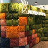 Nordgröna: Their reindeer moss wall covering had an amazing feel and excelled in sound absorption.