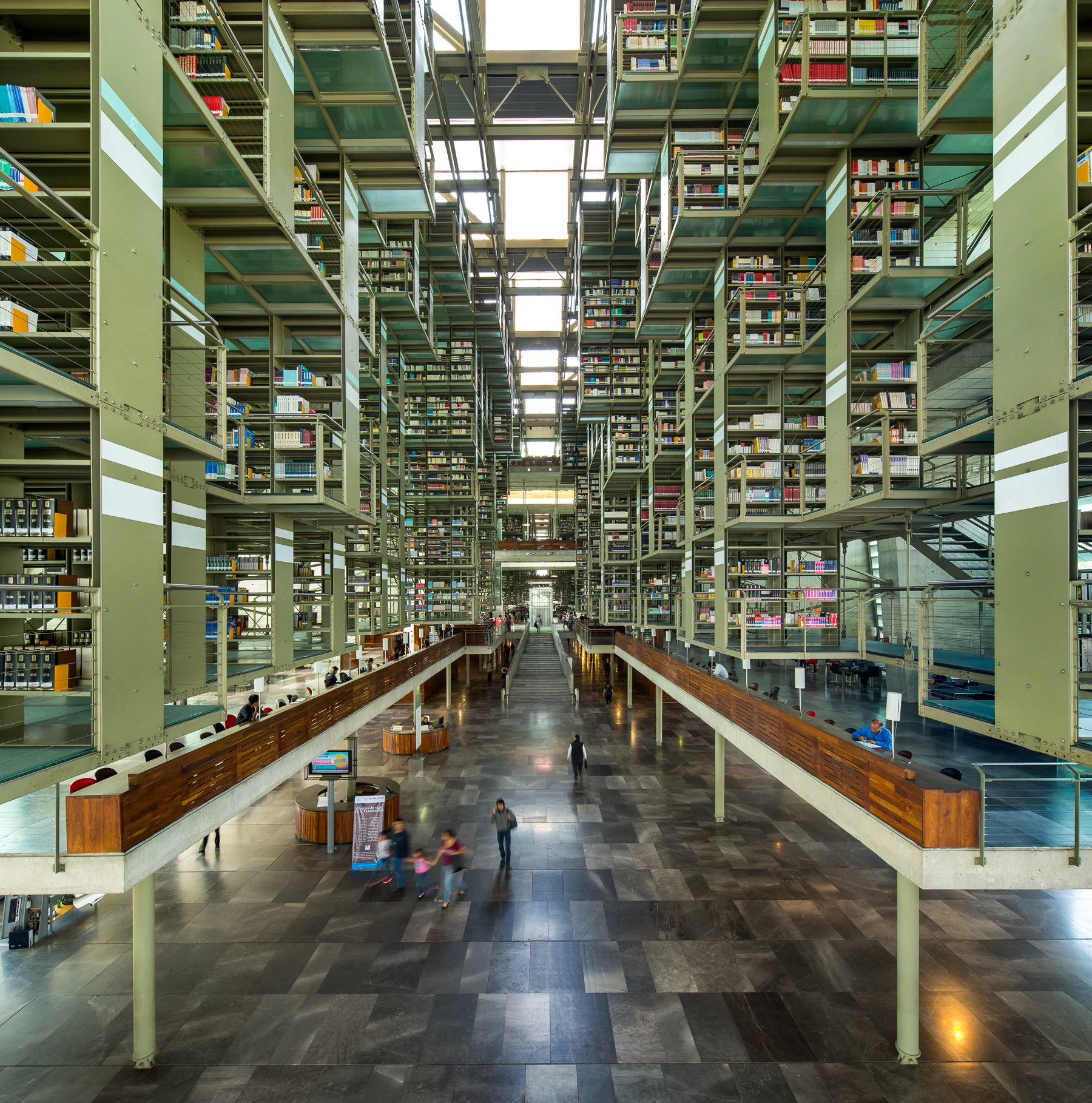 Vasconcelos Library / Alberto Kalach