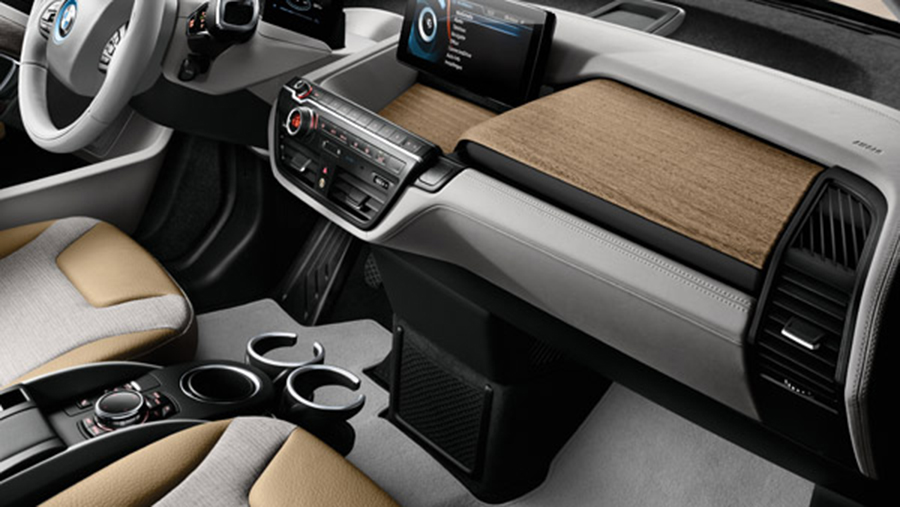 A Look Inside The Bmw I3 Interior Design Modern In