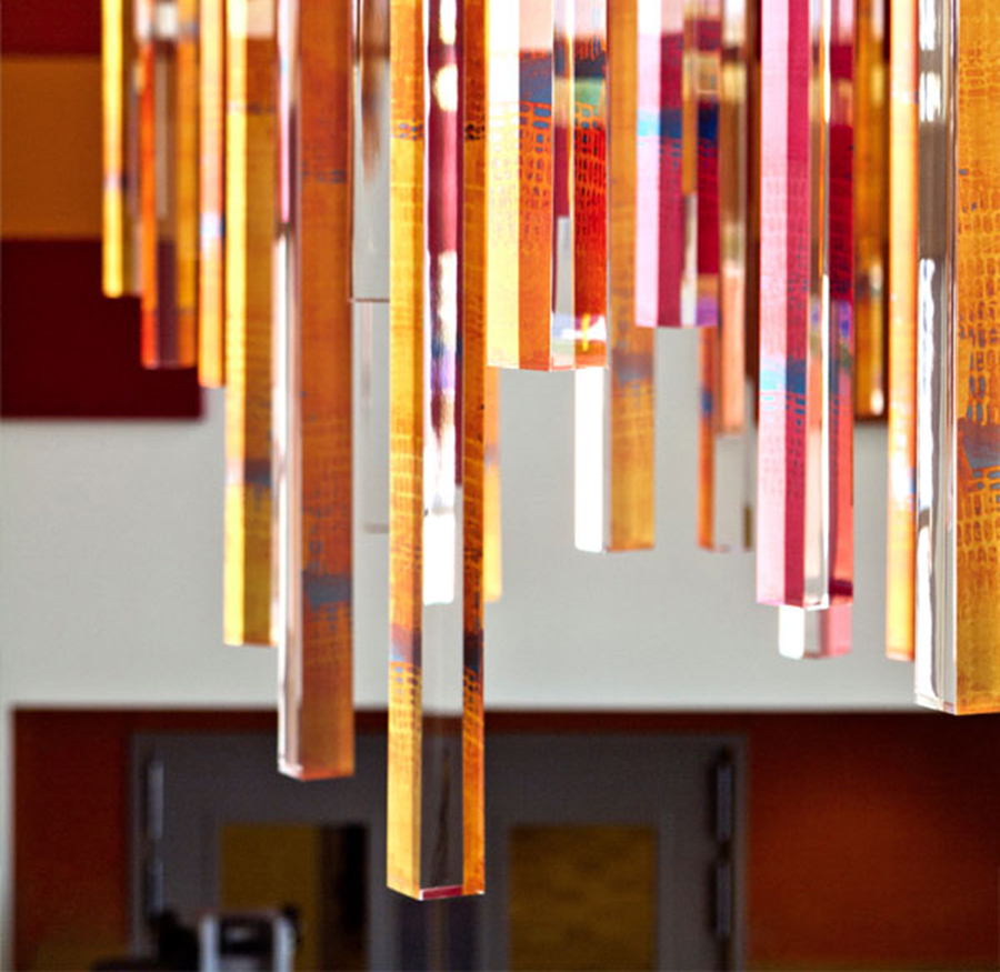 Acrylic Icicles Installation How It S Done Modern In
