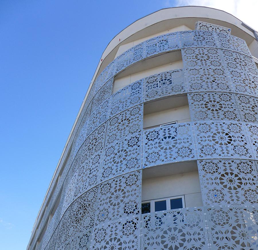 The Modern Exterior Design Of The Lumina Building