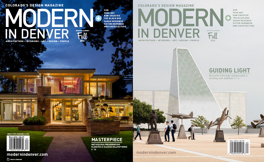 FALL ISSUE | OUT NOW! - Modern In Denver—Colorado\'s Design Magazine