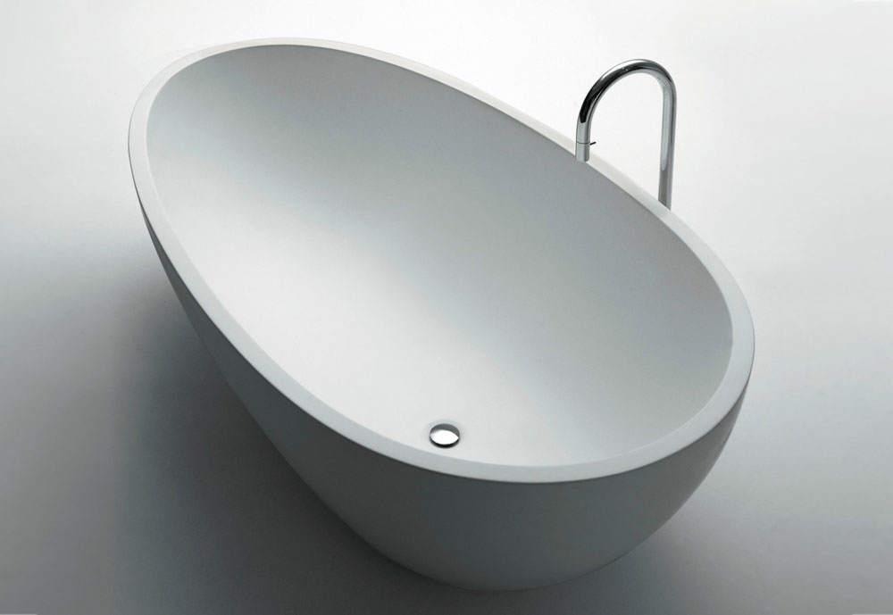 Spoon Is The First Freestanding Bathtub To Be Made Of Solid Surface Is Now  Available In Cristalplant® Biobased: An Exclusive Material Of Natural  Origin, ...