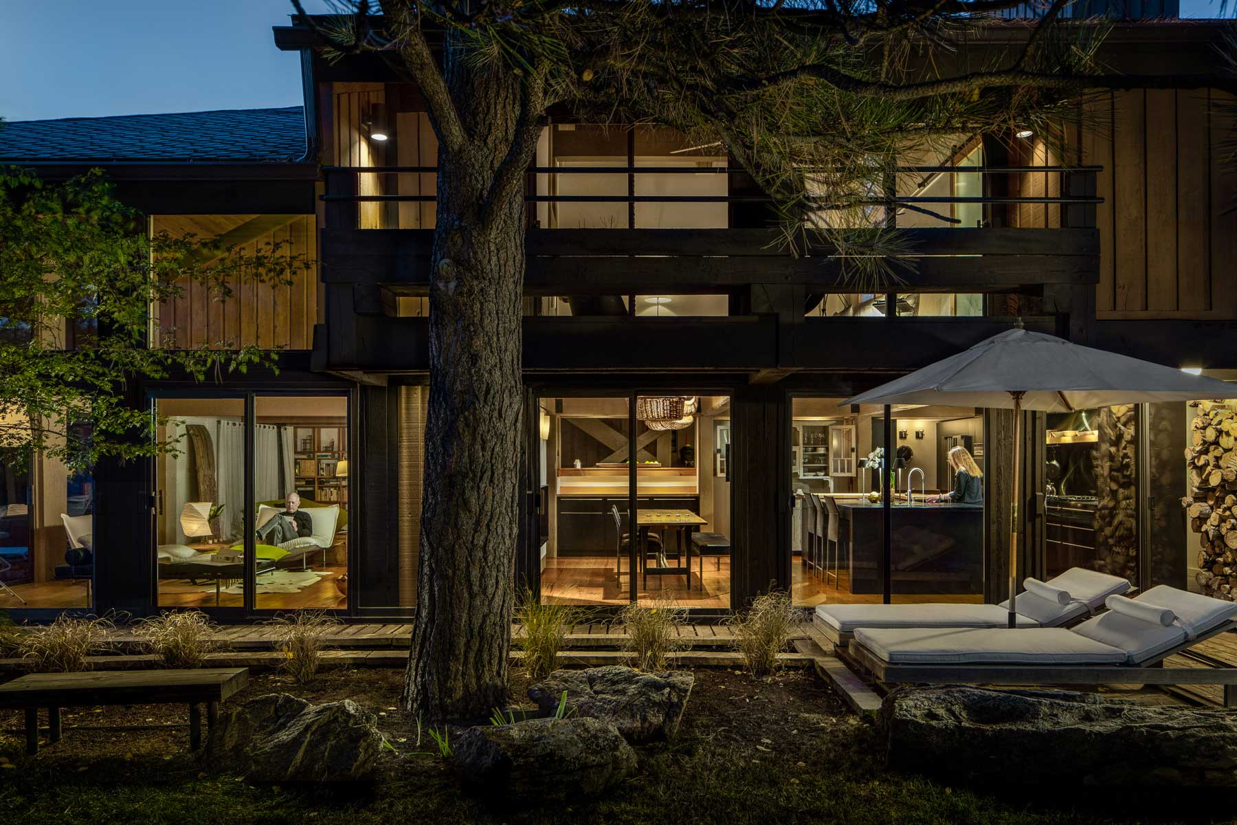 Included Below Are Additional Images And Comments By Jeff Sheppard (Roth  Sheppard Architects) About His Relationship To His Home. You Can Read The  Original ...